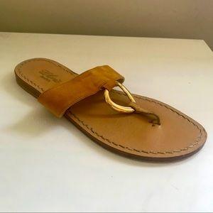 Handmade Italian Suede Sandal
